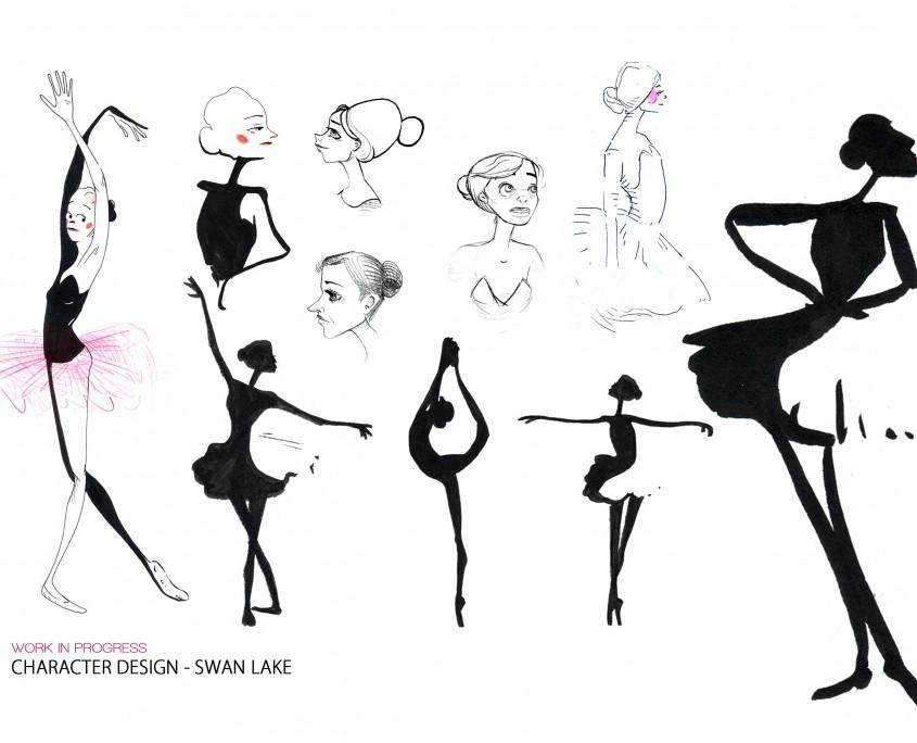 characterdesign_swanlake_Odette_isabellechasseigne2